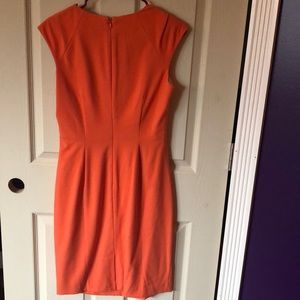 Dana Buchman Dresses - Orange dress.  Size 6.